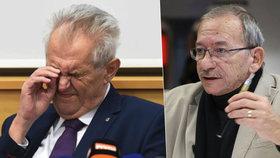 Kubera o Babišově vydírání i prezidentské volbě: Zeman může na jaře skončit