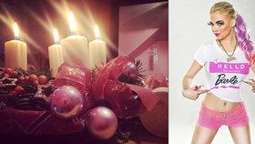 Barbie Jiráčková se nezdá: Kvůli Vánocům dobrovolně trpěla celou noc!