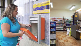 Pošta zruší přes 2000 poboček, převezmou je místní. Dana jednu otevřela v koloniálu