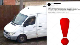 Bílá dodávka s polskou SPZ prý krade psy: Jde o hoax, potvrdila policie