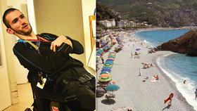 Ochrnutý Michal (25) má stejné sny jako jiní: Chci cestovat, ale chybí mi peníze