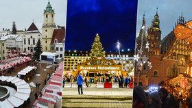 Ochutnejte Vánoce u sousedů! Jaké jsou vánoční trhy v Norimberku, Drážďanech, Vratislavi, Bratislavě a Vídni?