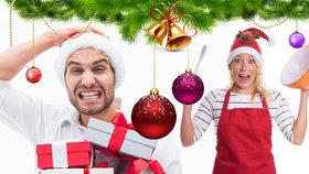 Jak přežít Vánoce a nezbláznit se? Rozdělte si úkoly a myslete i na sebe!