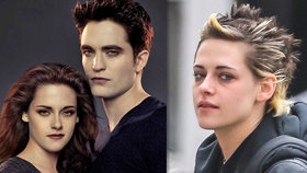 Hvězda Stmívání Kristen Stewart: Punkový účes a ztrhaná tvář!