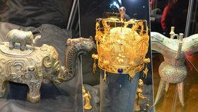 Šamanské kultovní předměty staré Číny: Unikátní výstava za čtvrt miliardy!