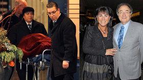 Podezřelé úmrtí miliardářského páru: Na krku měli známky po škrcení