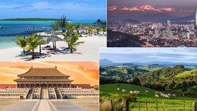 Nejkrásnější země na světě: Kam vyrazit v roce 2018 na dovolenou podle Lonely Planet?
