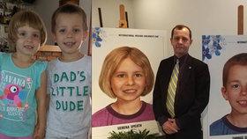 Vánoční zázrak: Pohřešované sourozence našli po třech letech! Zoufalý táta se dočkal