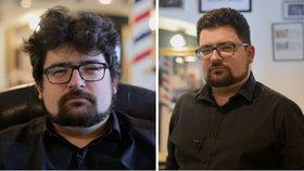 Proměna v barbershopu: Z velmi neupraveného bohéma gentlemanem