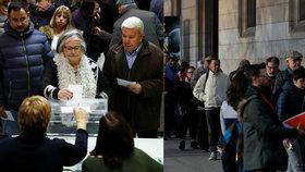 Vypukl boj mezi separatisty a promadridskými stranami. Kdo stane v čele Katalánska?