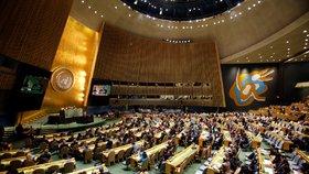 OSN odsoudilo USA kvůli Jeruzalému. Slováci byli pro, Češi se zdrželi