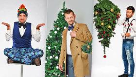 Veselé Vánoční focení: Tak trochu bláznivý Ježíšek Marka Ztraceného nebo Libora Boučka