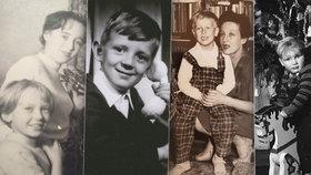 Koukněte, jak vypadaly Vánoce známých herců, když byli ještě malí: Poznáte je? Vydra je pořád stejný!