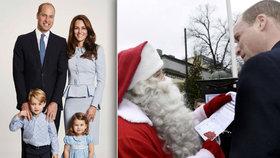 Princátka George a Charlotte: Většinu dárků jim rodiče sebrali