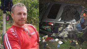 Skutečná tvář policie: Roderik pomáhal řidiči v nesnázích a srazila ho dodávka