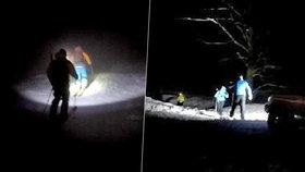Drama Čechů v Malé Fatře: 7 lidí bojovalo se sněhem a ledem