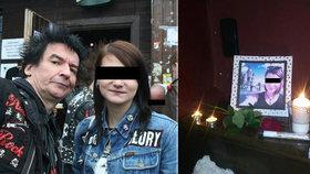 Písničky, lampiony i jamování: Kamarádi se rozloučili s Olgou, rodina ji pohřbila v Irkutsku
