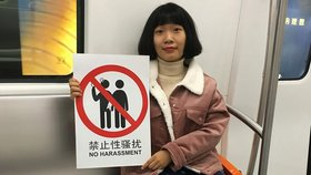Prolomily ticho o sexuálním obtěžování. Číňanky teď riskují vězení