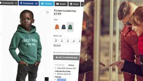 """Řetězec H&M stáhl mikinu, ve které byl černošský chlapec """"nejfajnovější opice"""""""