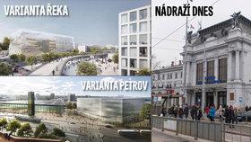 Krize v Brně: Zelení chtějí zachovat nádraží v centru