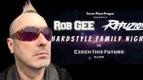 Legenda hardcoru Rob Gee vystoupí v Praze. Zahraje na Hardstyle Family Night part 3 vs. Czech This Future