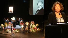 Nešťastný přeřek Vášáryové na pohřbu Labudy: Mariána nazvala jménem zesnulého manžela!
