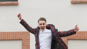 Kandidát na Eurovizi Mikolas Josef (22): Chci v životě něco dokázat, ale ne přes postel!