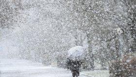 Do Česka se valí chumelenice a silný vítr, napadne až 30 centimetrů sněhu