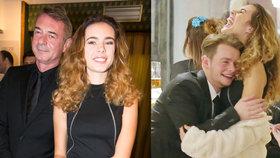 Dcera Dvořáka a Munzarové Anička (16): Mladý herec jí lezl do výstřihu!