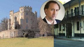 Herec Nicolas Cage rozházel tři miliardy! Koupil i vysušené lidské hlavy
