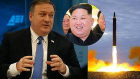 """KLDR ještě není hrozbou, říká šéf CIA. """"Nezastaví se ale, dokud toho nedosáhne,"""" varoval"""