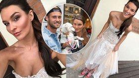 Česká Miss 2015 Nikol Švantnerová: Nevěsta na útěku! Pro jistotu si vzala tenisky