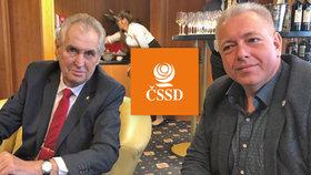 """ČSSD nevěděla o Chovancově výletu k Zemanovi: """"Sóloakce, naháněl si tam body,"""" říká Birke"""