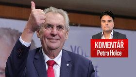 Komentář: Zeman vyhrál, lidé mu rozvázali ruce. Kdy budeme znovu volit Drahoše?