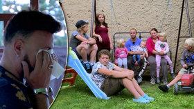 Bezdětný Laffita ve Výměně manželek: Hroutil se ze 7 dětí! Těch deset dní bylo jako tři měsíce!