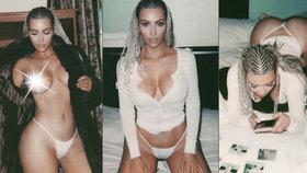 Nestyda Kim Kardashian: A teď vám ukážu moje krásná prsa!