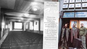 Výročí nové éry kina Aero: Před 20 lety do něj chodilo jen 13 lidí denně! Jak získalo svůj název?