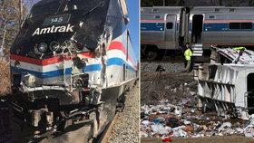 Čtyři smrtelné nehody za dva měsíce. Vlaky v USA mají černý start roku