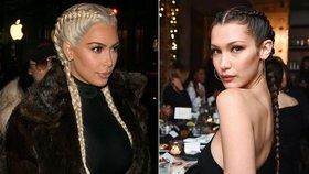 Obrácené copy podle Kim Kardashian a Belly Hadid: Jak si je zaplést?