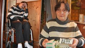 Nechutný útok na ochrnutou Martinu (45): Po schodech se jen plazím a lidé mě pomlouvají!