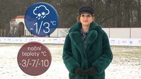 Počasí s Honsovou: O víkendu přijde pořádný mráz,  teploty spadnou na -10 °C