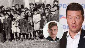 Historikové cupují Okamuru: I Němci uznávají, že v Letech byl romský koncentrák
