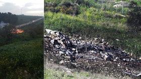"""""""Hrají si s ohněm,"""" hněvají se Izraelci. Sestřelili íránský dron a přišli o stíhačku"""