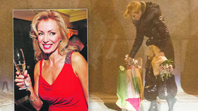 Kateřina Brožová slavila padesátiny: Dary stěží unesla!
