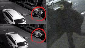 Brutální útok na dívku v Ostravě: Lupič ji kvůli kabelce kopl do hlavy a vláčel po silnici! Neznáte ho?