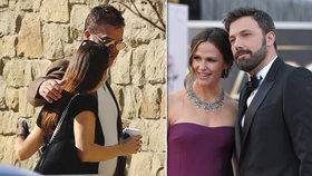 Exmanželka Afflecka Jennifer Garner: Objímá se s jiným mužem! Má už za nevěrníka náhradu?