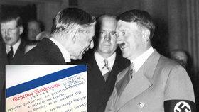 O nás bez nás: Německo půjčí Česku originál nenáviděné Mnichovské dohody