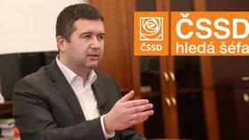 Hamáček promluvil o chybách Sobotky. O spolupráci s Babišem chce v ČSSD referendum