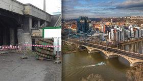 Nejen tramvaje! Na Libeňský most mohou od soboty i auta, podepření prošlo kontrolou
