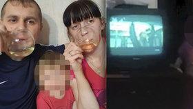 Jana souložila s přítelem před plačící dcerou (3). Sex vysílali na internet